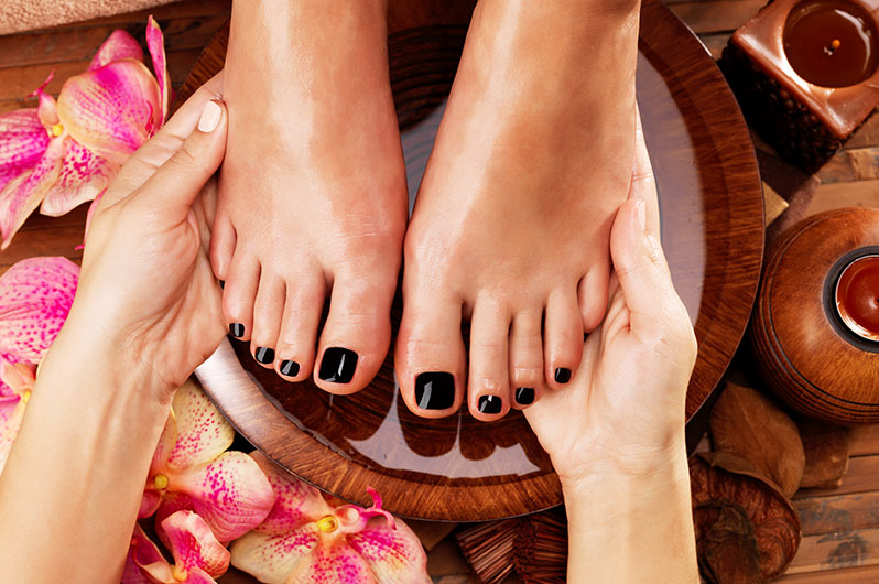 Expo Beauty Institute  Pedicure Services